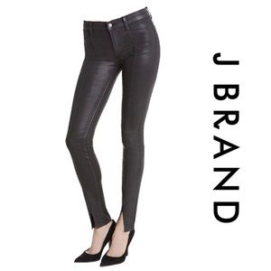 J BRAND Vera Coat Steel Black Pants